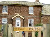 English: Parochial School House Built in 1854