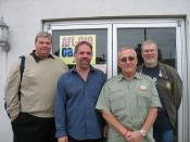 WI: Vietnam veteran Jim Wasser, IBEW Local 176, visits Milwaukee October 22, 2008