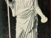 From a photograph by Fratelli D'Alessandri of the statue in the Lateran Museum. Agrippina the Younger, sister of Caligula and mother of Nero.