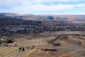 Thermopolis, Wyoming, viewed from Roundtop Mountain; Nikon D80, Nikon 17-35mm/f2.8, 31mm, f/25, 1/80s, ISO 500.