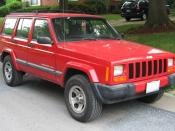1997-2001 Jeep Cherokee photographed in USA. Category:Jeep XJ Cherokee