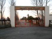 Español: el predio ferial municipal en el medanito