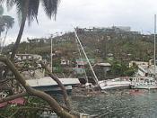 Devastation caused by Hurricane Ivan in Grenada