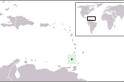 Location of People's Revolutionary Government of Grenada