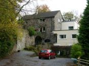 English: The Mill at Glynhir This has now taken on a new lease of life as a hotel and restaurant.