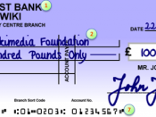 Parts of a cheque based on a UK example drawee, the financial institution where the cheque can be presented for payment payee date of issue amount of currency drawer, the person or entity making the cheque signature of drawer Machine readable routing and