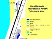 Map of Kota Kinabalu International Airport