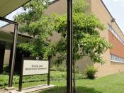 English: The Social and Behavioral Sciences building at Lamar University