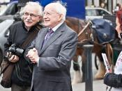 On October 29, 2011, two days after the presidential election was held, Higgins was declared President-elect of Ireland