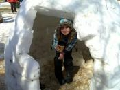 Fiona in the Igloo