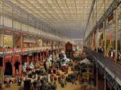 The Great Exhibition in London. The United Kingdom was the first country in the world to industrialise.