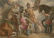 King Henry VI, part III, act II, scene III, Warwick, Edward, and Richard at the Battle of Towton