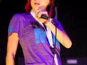 English: Lady Sovereign at Parklife 2009, Wellington Square.
