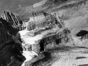 Grinnell Glacier in Glacier National Park (US) in 1938