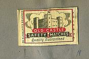 Matchbox labels. c 1960. Woolfold Co-op, Alfred Preedy & Sons Ltd.,Dudley.