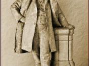 Statue of Henry Ward Beecher, Plymouth Church of the Pilgrims