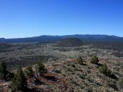 Medicine Lake Volcano from Schonchin Butte, Lava Beds National Monument
