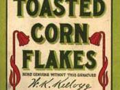 English: Very First Corn Flakes Package: http://www.kipnotes.com/CornFlakesPackageThm.jpg