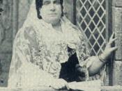 Queen Isabella II of Spain in exile in Paris.