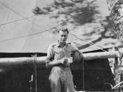 Gough Whitlam in Cooktown, Queensland in 1944