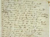 English: Draft of Samuel Taylor Coleridge's poem Kubla Khan