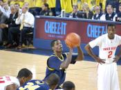 English: Manny Harris shooting Free Throws