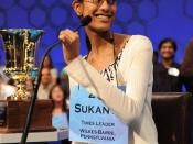 Sukanya Roy, Champion of the 2011 Scripps National Spelling Bee