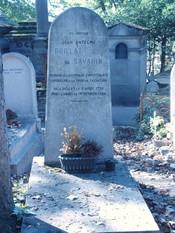 English: Tomb of Jean Anthelme Brillat-Savarin Français : Tombe de Jean Anthelme Brillat-Savarin