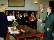 Photo of Jeffpw wedding ceremony in the Netherlands. Original text: Photo of my wedding ceremony in the Netherlands. My and my partner's gift to Wikipedia. Merry Christmas.