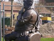 The Gower Memorial - statue of Falstaff in Stratford (from Shakespeare's Henry IV, part 1 and 2)