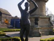 The Gower Memorial - statue of Prince Hal from Shakespeare's Henry IV, part 1 and 2
