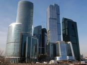 English: Moscow-city 2010,March