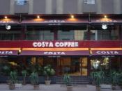 English: The only Costa in the world on two floors - Starbucks competitor -