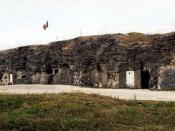 English: Fort Vaux, Verdun, France Deutsch: Festung Vaux, Verdun, Frankreich