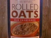 Price Chopper brand rolled oats