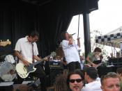 The Adolescents live at Warped Tour 2007