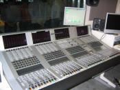 Studer Vista 8 Español: Consola de la mesa de mezclas de audio digital marca Studer, modelo Vista 8.
