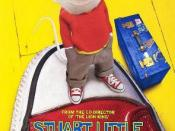 Film poster for Stuart Little (film) - Copyright 1999,Colombia Pictures