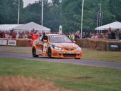 Honda Integra BTCC car at the 2005 Goodwood Festival of Speed