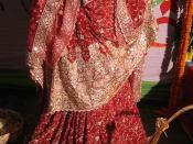 A Bangladeshi traditional doll, depicting a bride dressed up for the Gaye Holud ceremony
