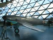 Messerschmitt Bf 109 with Yugoslav Air Force markings captured and used by Yugoslav Partisans during WWII.