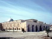Al Aqsa in Jerusalem Norsk (bokmål): Al-Aqsa Moskeen i Jerusalem