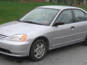 2001-2003 Honda Civic photographed in College Park, Maryland, USA. Category:Honda Civic (2000)