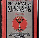 English: Central Scientific Co catalog cover