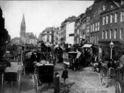 Whitechapel High Street, where Aron Salomon, the most famous litigant in company law, went insolvent.