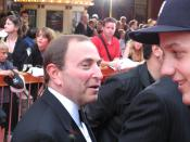 English: NHL Commisioner Gary Bettman in 2007.