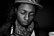 English: Black & White photograph of Lil Wayne taken by RJ Shaughnessy