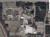 English: Halliburton headquarters, aerial view Español: La sede de Halliburton, vista aérea