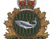 Fishery Officer heraldic badge
