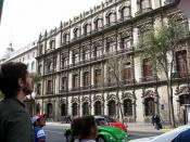 English: Old building in Mexico City